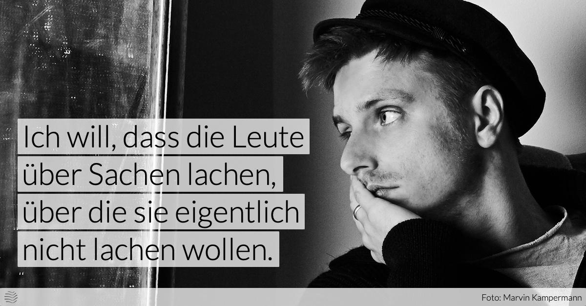 Moritz Neumeier, Foto: Marvin Kampermann
